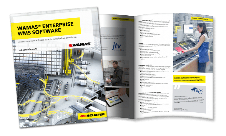 WAMAS WMS SOFTWARE BROCHURE