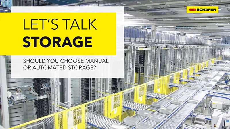 Should you choose manual or automated storage? Let's Talk!